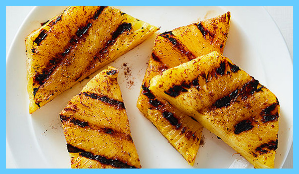 0 point grilled pineapple