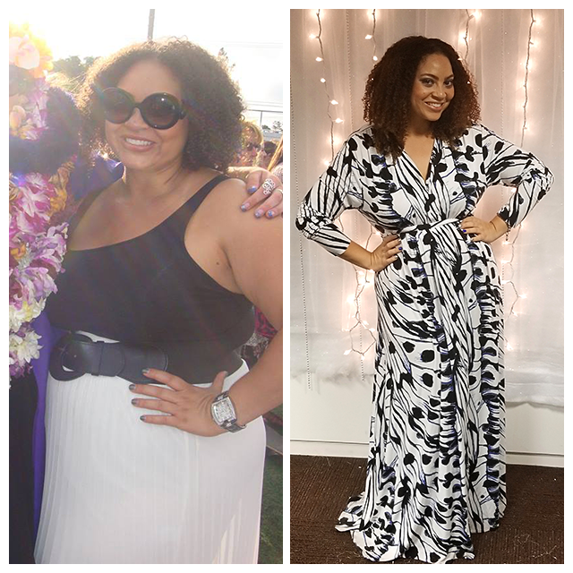 Picture: Before and After Losing 103lb of Weight