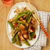 Japanese Chicken with Rice and Vegetables
