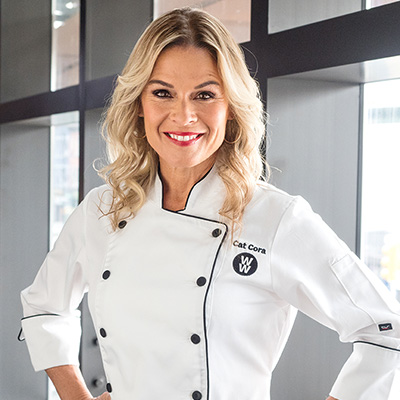 Cat Cora, celebrity chef and WW ambassador.