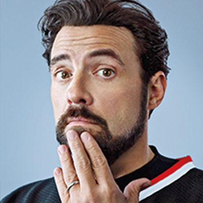 Kevin Smith, filmmaker, director, actor, and WW ambassador.