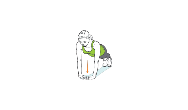 How to do a tricept focused pushup