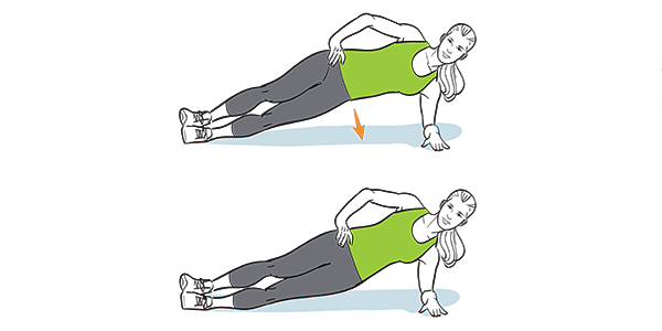 How to do a side plank
