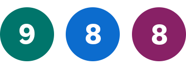 Grön 9, Blå 8, Lila 8