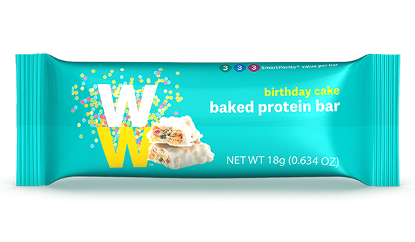 WW Birthday Cake Baked Protein Bar