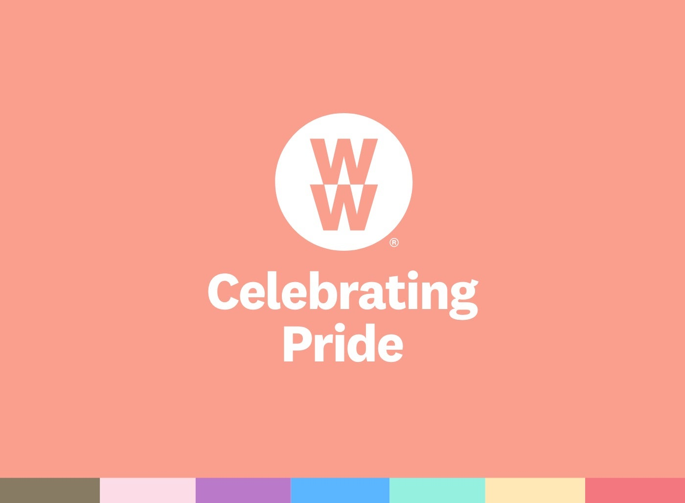 WW is celebrating Pride month.