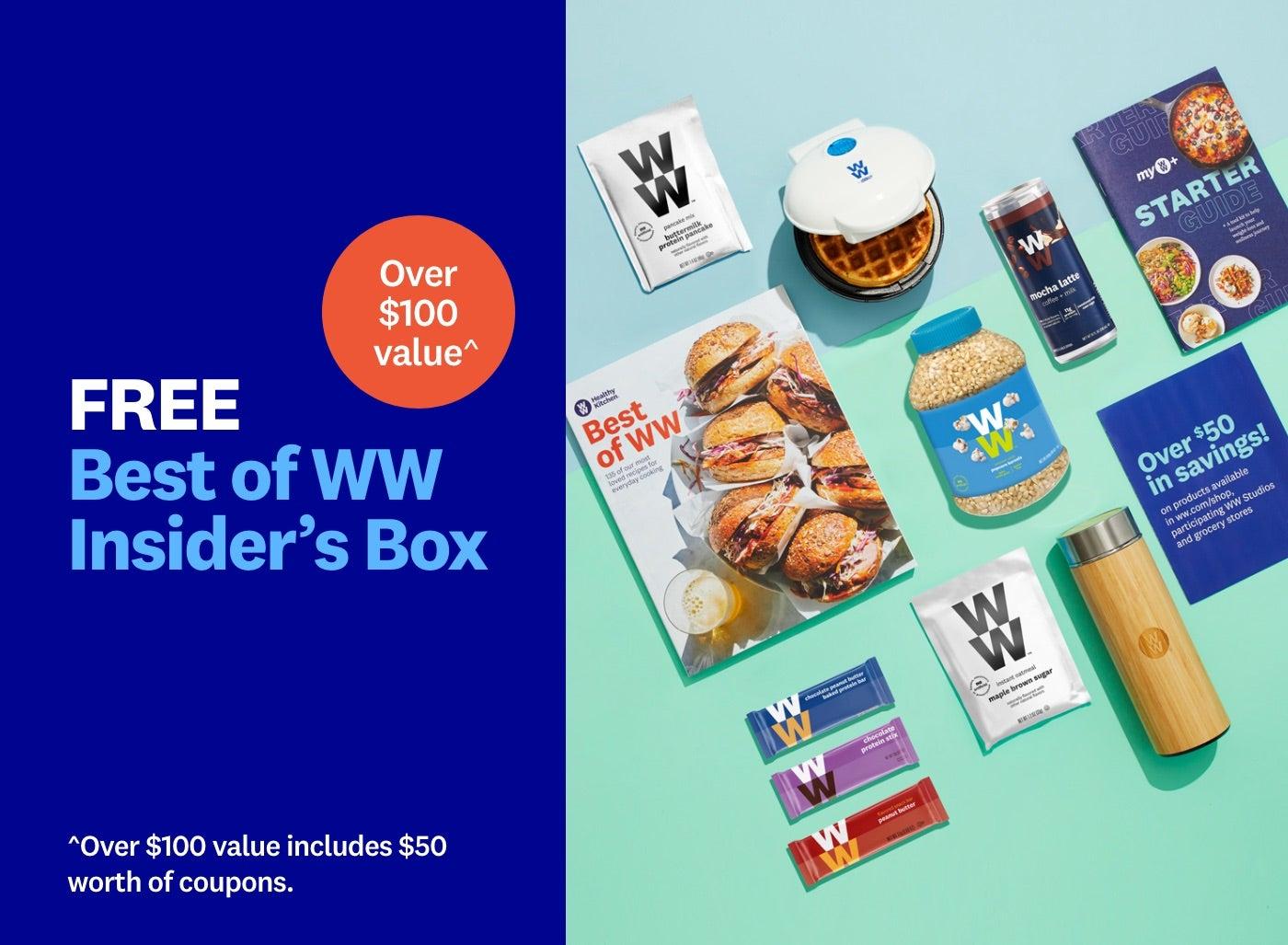 Get a free Best of WW Insider's Box.