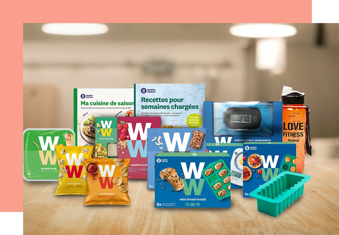 Une sélection de produits WW