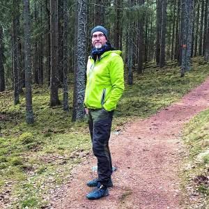 Stefan i skogen