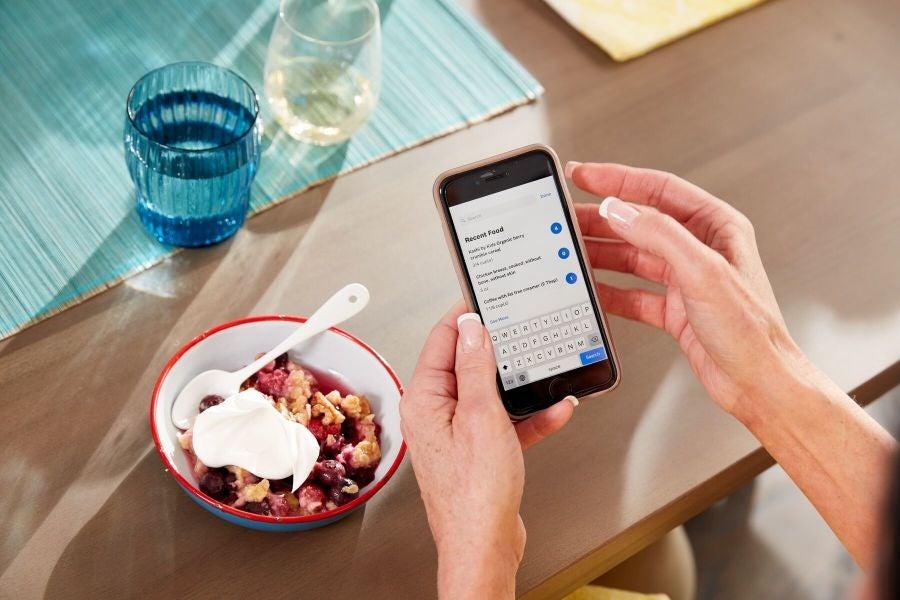 Ontbijt inchecken in de WW app